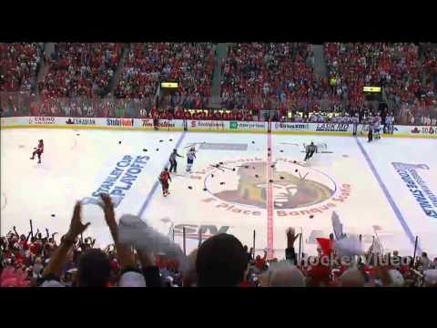 Full line brawl - Montreal Canadiens vs Ottawa Senators . May 5. 2013