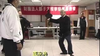 getlinkyoutube.com-太極拳大師鞠鴻賓與學生討論單鞭吊手要領注意鞠師左腳那順勢一翻