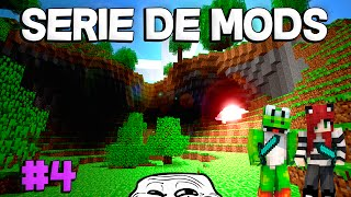 getlinkyoutube.com-JUGANDO CON EL CREEPER | Minecraft Serie Mods 2 Ep.4