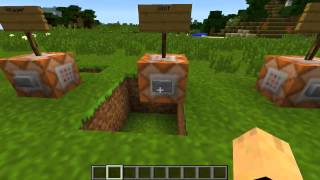 getlinkyoutube.com-minecraft tutorial Command blocks: Riding EnderDragons!!