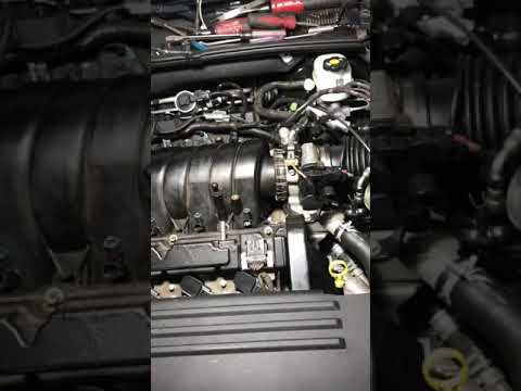 How to remove 06-11 Cadillac DTS starter and intake manifold knock sensor (3)