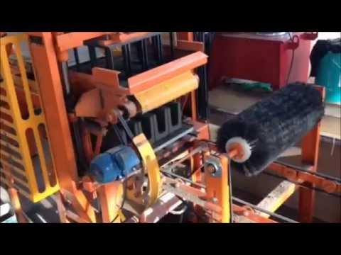 Máquina de fabricar bloco hidráulica automática
