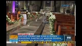 8 bishops, 7 priests to concelebrate Dingdong-Marian wedding Mass   Unang Hirit