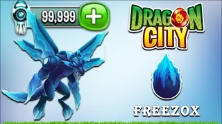 Dragon City - Freezox Dragon [DC 2056 Island - Full Unlock 2017]