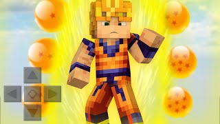 getlinkyoutube.com-Minecraft PE 0.13.0 - DRAGON BALL MOD! (Pocket Edition )