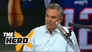 The Patriots will beat the Steelers because of Brown livestream | THE HERD