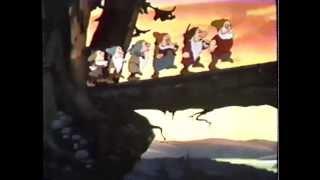 Snow White and the Seven Dwarfs (1937) Trailer (VHS Capture)