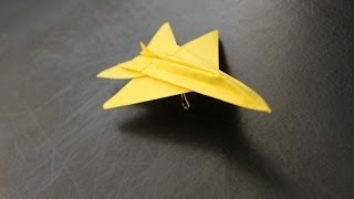 getlinkyoutube.com-How to make a cool paper plane origami: The British Aircraft Corporation TSR-2