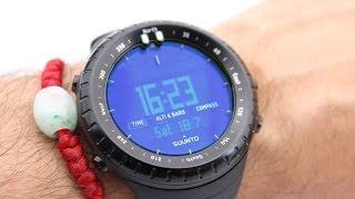 getlinkyoutube.com-Suunto Core All Black Military Watch
