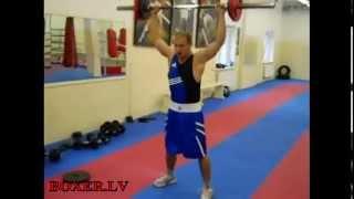 getlinkyoutube.com-Круговая тренировка для бокса / CrossFit Boxing