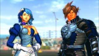 getlinkyoutube.com-Street Fighter X Tekken 2013 - Lars and Alisa Arcade Mode