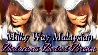 getlinkyoutube.com-Milky Way Que Mastermix Malaysian Body Wave