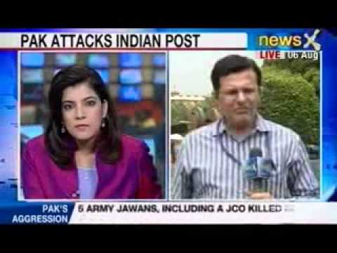 Pakistan army vs Indian army again : 5 dead in J & K