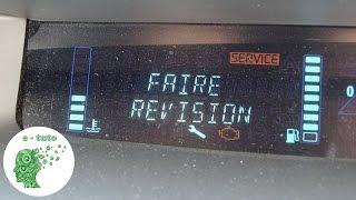 getlinkyoutube.com-Remise à zero compteur d'entretien/révision/vidange Renault