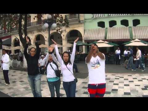 Dronie de Pikis y Conejitas en Zócalo, Veracruz, México - #droniesdeveracruz
