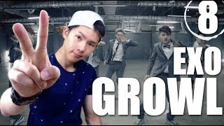 getlinkyoutube.com-EXO - Growl | Step By Step Dance Tutorial Ep.8