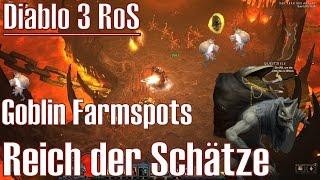 Diablo 3 RoS ★ Schatzgoblin Farmspots ★ Reich der Schätze [Deutsch/HD]