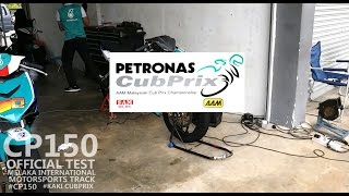 CP150 Day 1 | Malaysian Cubprix Official Test 2017 Y15ZR vs RS150R |150cc Underbone