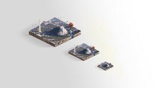 getlinkyoutube.com-Isometric Photo-Manipulation Tutorial in Photoshop