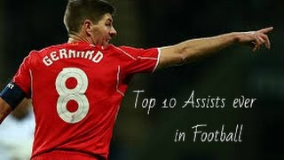 Top 10 ● Assists Ever in Football #1