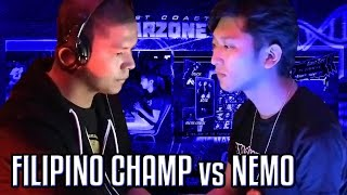 getlinkyoutube.com-Filipino Champ vs. Nemo - FT20 Money Match - West Coast Warzone 4 - Ultimate Marvel vs. Capcom 3