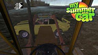 My Summer Car #24   Haciendo amigos, Auto Amarillo