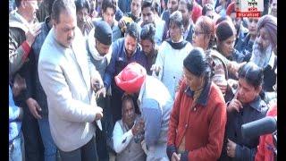 भाजपा VS भाजपा, टिकट न मिलने पर ज़ोरदार हँगामा