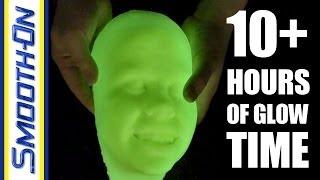 getlinkyoutube.com-Using Glow Worm Powder to Make a Glow In The Dark Resin Casting