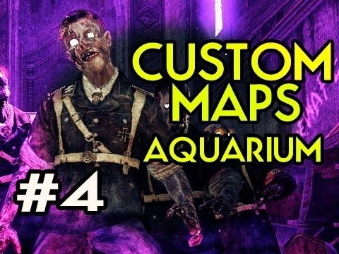 Custom Nazi Zombies Maps: Aquarium w/ Kootra Ep.4 - WE ARE GETTING SOMEWHERE NOW