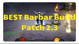 getlinkyoutube.com-Barbar: Der beste Build für Patch 2.3 (WW-Build +Kanais Würfel)