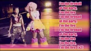 getlinkyoutube.com-Willow Smith - Fireball (ft. Nicki Minaj) / with Lyrics on screen