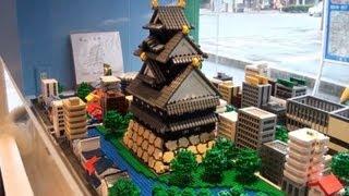 getlinkyoutube.com-LEGO レゴビルダー 三井淳平さんの作品を見学に行きました
