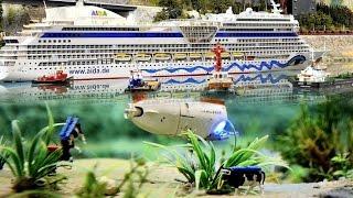 Große Schiffsparade - Happy Birthday, Miniatur Wunderland - Ein Nordostsee-Walzer mit Schiffen