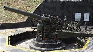getlinkyoutube.com-Kinmen Military 240mm Howitzer Cannon Firing