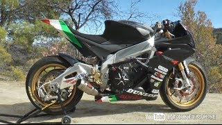 getlinkyoutube.com-Aprilia RSV4 Stunt Bike Conversion - Clint Ewing