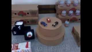 getlinkyoutube.com-Reutilizando papelão e caixa de leite em decoração de festa