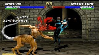 getlinkyoutube.com-Ultimate Mortal Kombat 3 Classic Sub Zero Gameplay Playthrough