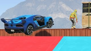 getlinkyoutube.com-CORRE O TE ATROPELLO! EL COCHE SOFA!!! - GTA V ONLINE