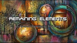 getlinkyoutube.com-Painting Abstract Design, Random Applications, Techniques