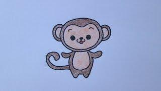 getlinkyoutube.com-Como desenhar um macaquinho