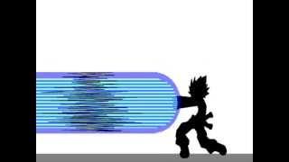 getlinkyoutube.com-Epic DBZ Pivot fight Gogeta vs Broly Part 1