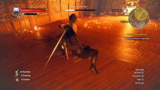 getlinkyoutube.com-The Witcher 3: Iris Von Everecs Nightmares BOSS (Heart of Stone)