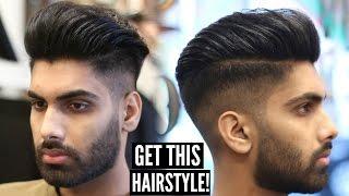 getlinkyoutube.com-Skin Fade Pompadour - Mens Hairstyle & Haircut Tutorial - Mens Hair 2016