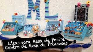 getlinkyoutube.com-Ideas para fiesta de Princesas :: Chuladas Creativas