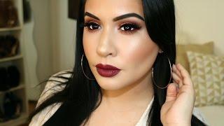 getlinkyoutube.com-Thanksgiving Makeup Tutorial ft. Huda Beauty Palette