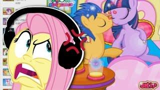 getlinkyoutube.com-Fluttershy plays Weird Pony Games 🍉 | ALWAYS TWILIGHT. | Part 7