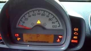 getlinkyoutube.com-Removal Reset & Reinstall Gauge Pod-2009 Smart Fortwo