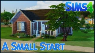 getlinkyoutube.com-The Sims 4 Speed Build - A Small Start