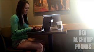 getlinkyoutube.com-Making HOT Girls Watch Gay Porn Prank