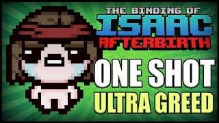 getlinkyoutube.com-One Shot Ultra Greed? - Afterbirth Greed Mode [31]
